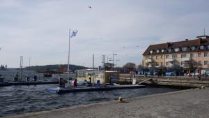 Am Pier von Vaxholm